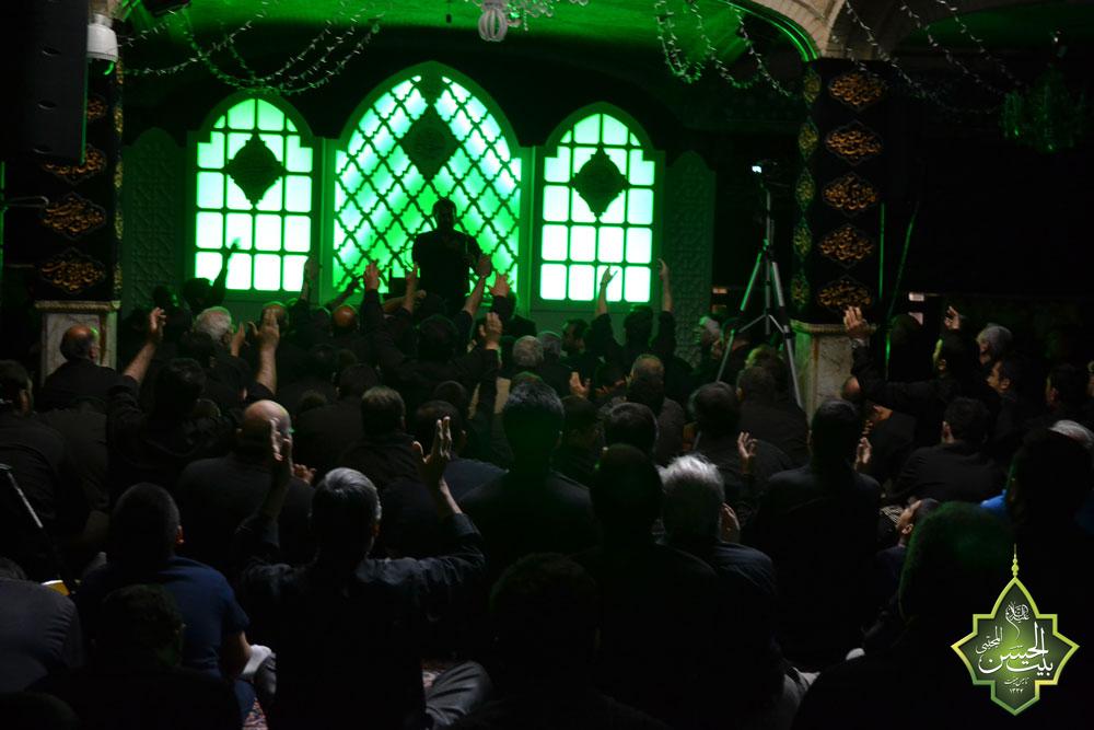 عکس | روز نهم محرم 1438 بیت الحسن